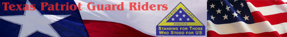Texas Patriot Guard Riders